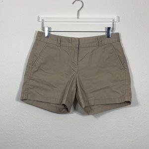 J. Crew Chino Shorts 100% Cotton